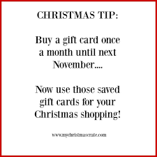 A Great Christmas Tip Its Never Too Early To Start Saving Up