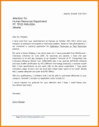 6 Example Of Application Letter For Fresh Graduates Graphic Resume