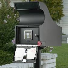 mailbox with key.  Key Secure Mail Vault  Keyless Locking Mailbox Throughout With Key A