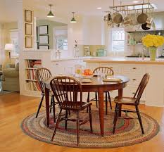 open plan kitchen and living rooms