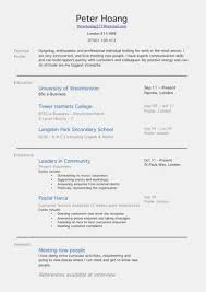 Resume Template For First Job Highschool Students With No Resume