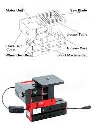 table jigsaw tool. 6 in 1 multi metal mini wood lathe motorized jig-saw grinder driller table jigsaw tool