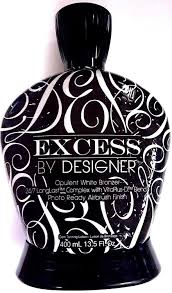 Excess By Designer Tanning Lotion Amazon Com Designer Skin Excess Clear White Dha Indoor