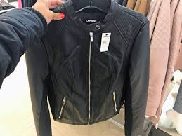 1 who what wear pick minus the leather double peplum jacket reg 128 00 80 99 clearance