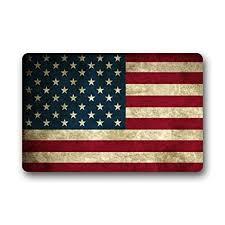 front door mats outdoorAmazoncom Door Mat Vintage Flag of American Stars and Stripes