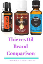 Edens Garden Comparison Chart To Young Living Thieves Oil Brands Comparison Mom Elite