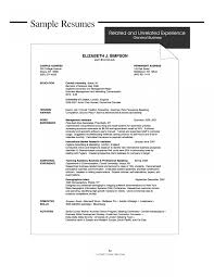 General Labor Resume Objectives Example Automatic Identification Of