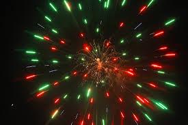 West Dennis Light Dazzling Display Of Fireworks From West Dennis Beach