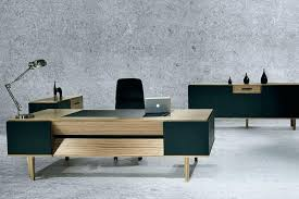 office desk modern. Funky Office Furniture Desk Workstation Executive Modern Style Large .