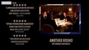 BFI LFF2020 Best Film 🤩🤩🤩 Another Round skol 🍻🥂 with Mads Mikkelsen,  director Thomas Vinterberg - YouTube