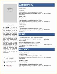 Resume Word Template Awesome 6 Resume Microsoft Word Templates