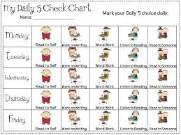 Daily Five Chart Printables Free Daily 5 Centers Cliparts Download Free Clip Art Free