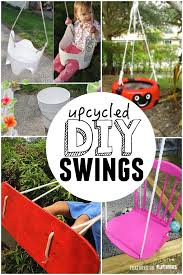25 DIY Swings You Can Make For Your Kids - PLAYTIVITIES