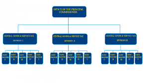 Organizational Chart Official Website Of Central Excise