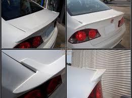RHDJapan  Back Yard Special Rear Trunk Lip Spoiler Civic FD2 TypeRBackyard Special Bumper