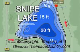 Snipe Lake Depth Chart Snipe Lake Community Campground Alberta