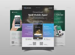 Design Flyer App Mobile App Flyer Template