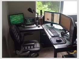 office set up ideas. Wonderful Desk Gaming Setup Best Interior Design Plan With 1000 Ideas About On Pinterest Office Set Up M