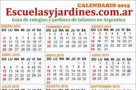 Feriados 2015 Argentina Almanaque Para Imprimir
