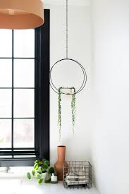 Diy Hanging Hoop Planter Vintage Revivals