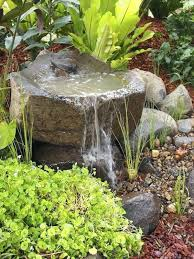 rock fountains for garden best rock fountain ideas on water feature fountain house and backyard water rock fountains for garden