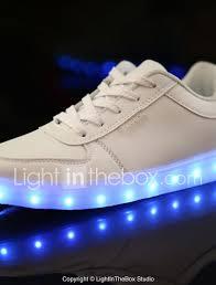 Big Kids Light Up Shoes Girls Pu Sneakers Little Kids 4 7ys Big Kids 7years