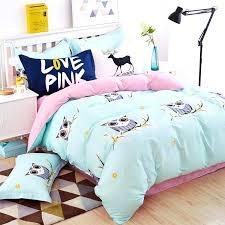 bright comforter sets whole blue owl girls boys bedding set color fish horse car bed