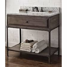 Driftwood Bathroom Vanity Like Aged Steel Industrial Look Vanities Findlikebuy