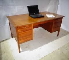vintage office table. Image Is Loading RETRO-TEAK-DESK-VINTAGE-OFFICE-DESK-50s-60s- Vintage Office Table N