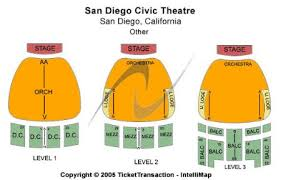 San Diego Civic Theatre Tickets And San Diego Civic Theatre