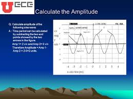 6 calculate the amplitude q calculate amplitude of the following sine wave a time period can be calculated by subtracting the two end points showed by