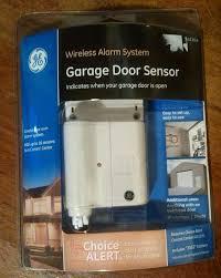 ge choice alert garage door wireless sensor alarm model 45130 ge