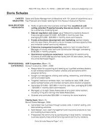 100 National Sales Director Resume Free Sample Sales Resume