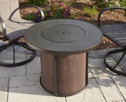stonefire fire pit table w cover
