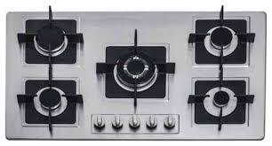 Inch Kitchen Stove Top View Stainless Steel Builtin Kitchen Burner