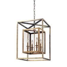 troy morgan four light lantern pendant