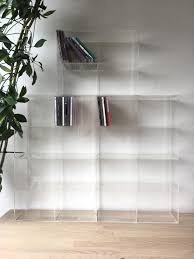 Muji Coat Rack 100 x MUJI clear plastic CD storage boxes fits 100 CDs in Tower 54