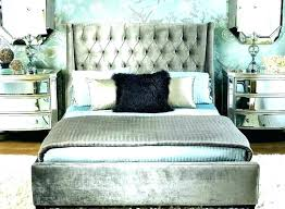 Hollywood Swank King Bed Old Bedroom Furniture Glamour Decor Glam ...