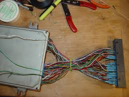 obd2a to obd2b conversion harness questions hondacivicforum com the three wires hanging back over the ecu