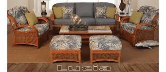 wicker sunroom furniture. Lucia Furniture Set Wicker Sunroom