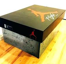 nike shoe box coffee table shoes storage for giant air interior living