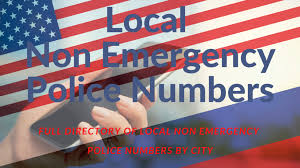 If you don't check key details you can misspell critical words. Local Non Emergency Police Numbers Full Directory By City