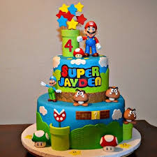 Super mario bross cake mate s cakes and more Pinterest