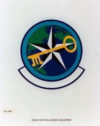 Air Force Organizational Emblem Pacaf Air Intelligence