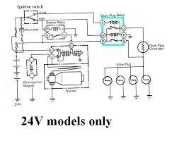 24v starter relay wiring diagram wiring diagrams 24v starter wiring diagram image about