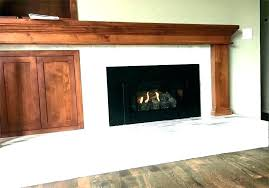convert wood stove to fireplace burning gas logs