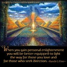 Enlightenment Quotes Impressive Gaining Personal Enlightenment Picture Quote Randi G Fine