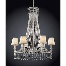 elk lighting dynasty six light clear crystal chandelier