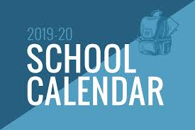 Image result for 2019-2020 instructional calendar