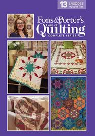 Love of Quilting TV Show - 3000 Series - Fons & Porter - The ... & In this series we present quilts created to honor our service men and  women, as well as lessons about silk dupioni, crazy quilting, a bit of  embellishment ... Adamdwight.com